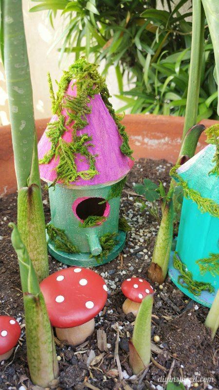 Garden Fairy Houses. Diy Fairy House Garden Houses