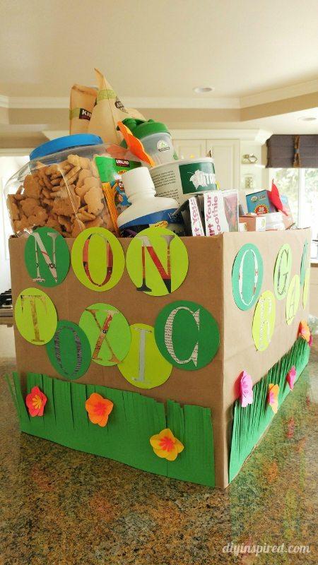 DIY Non Toxic Gift Basket - Eco Friendly Gift Wrapping Ideas