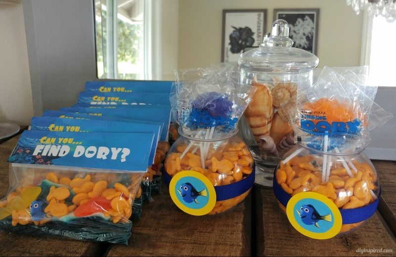 Finding Dory Party Ideas - DIY Inspired