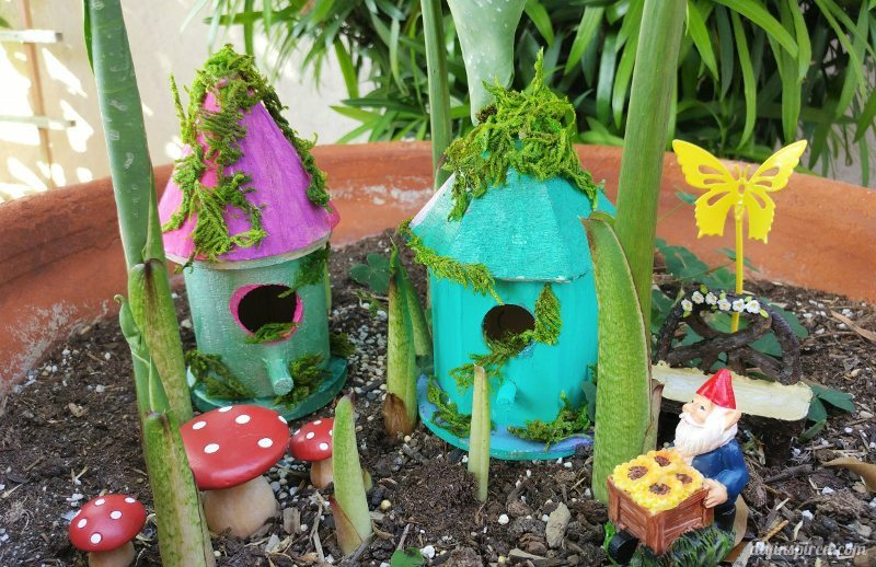 DIY Fairy Garden Houses - DIY Inspired