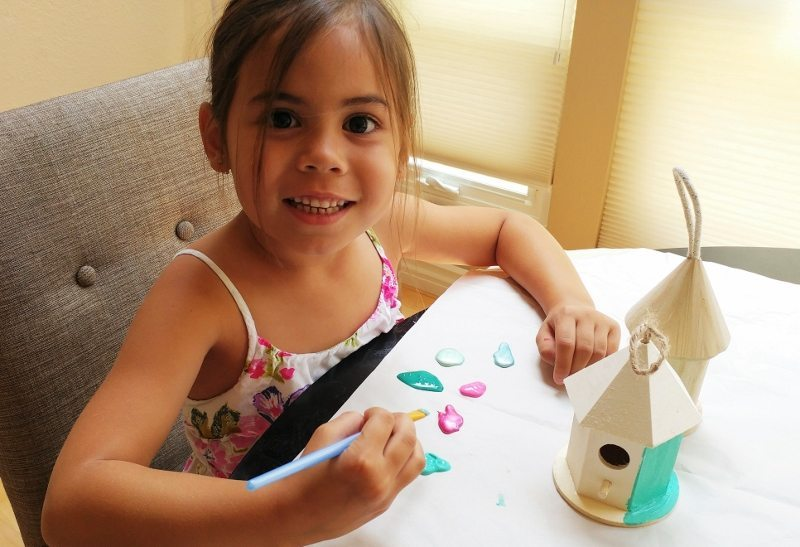 Fairy Garden Painting with Kids