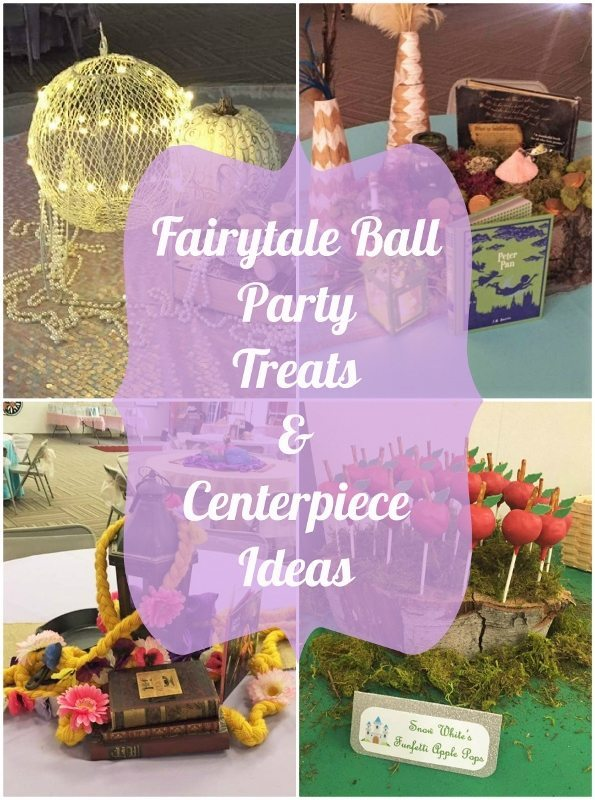 Fairytale Ball Party Treats and Centerpiece Ideas - DIY Inspired