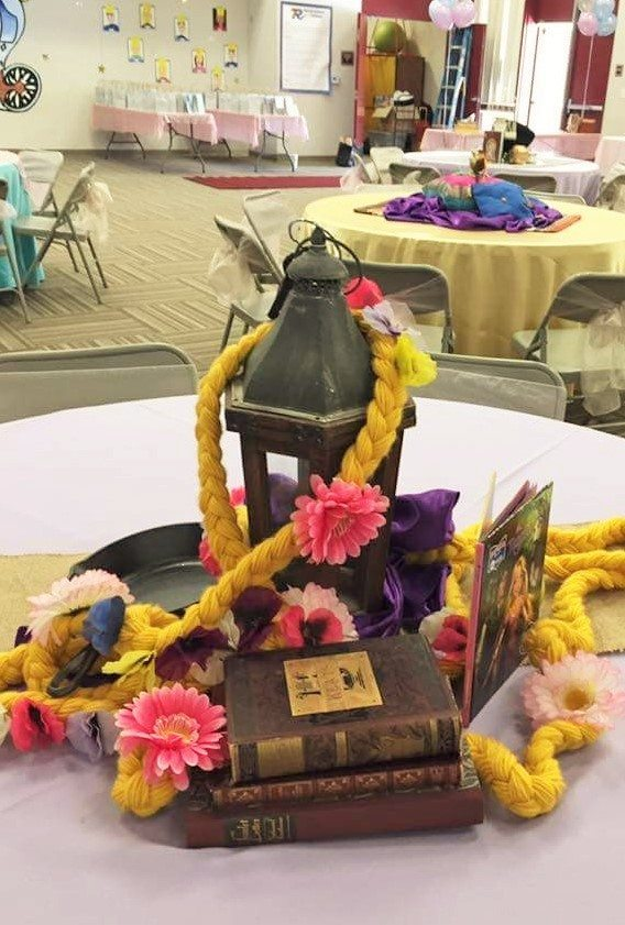 Fairytale Ball - Rapunzel Centerpiece