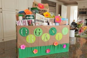 Organic Themed Gift Basket for School Auction