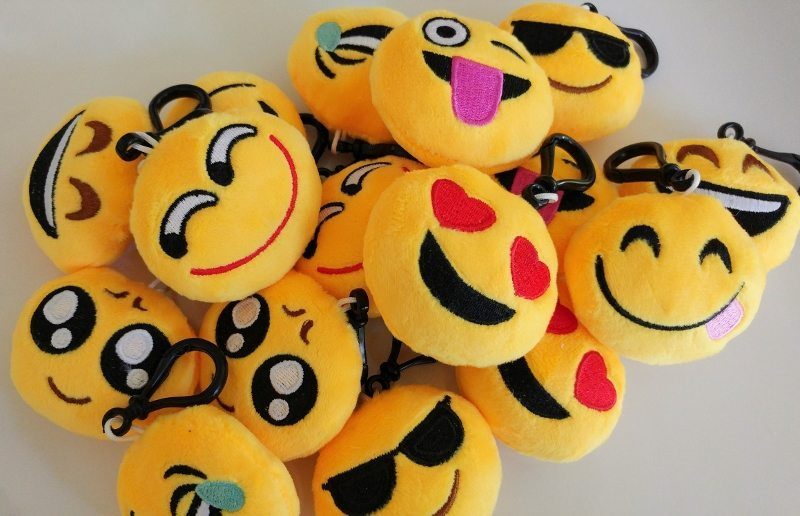 Emoji Key Chain Party Favors