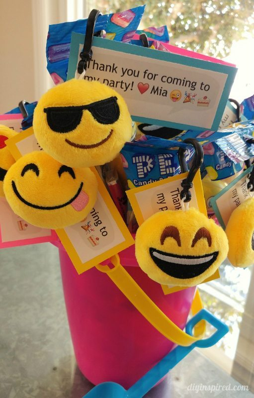 Emoji Party Favors - DIY Inspired