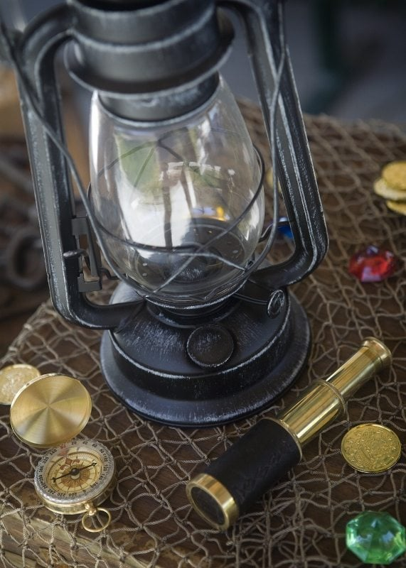 Pirate Party Decorating Ideas Lantern