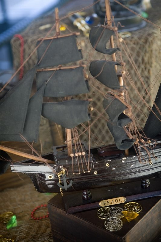 Pirate Party Decorating Ideas - Pirate Ship