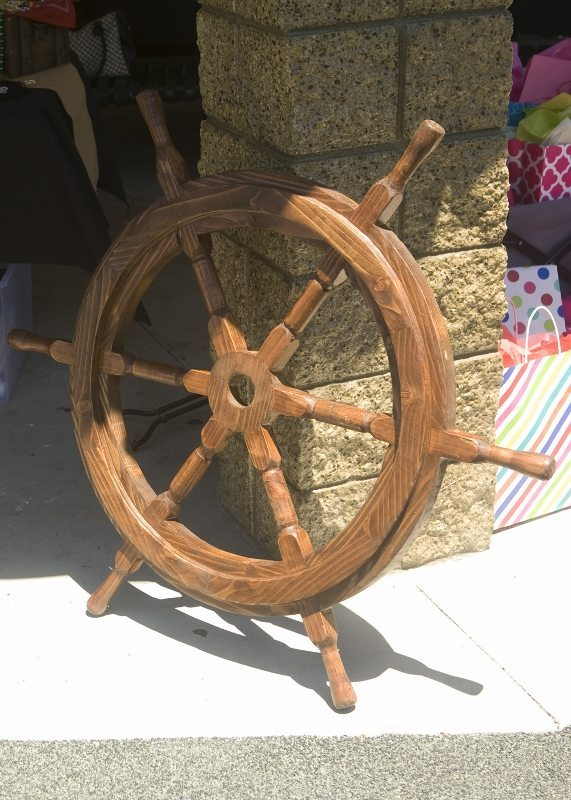 Pirate Party Decorating Ideas -Ship's Wheel