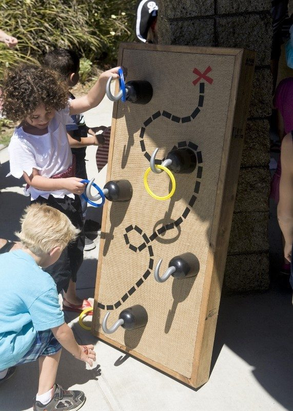 Pirate Party Game Ideas -Hook Toss