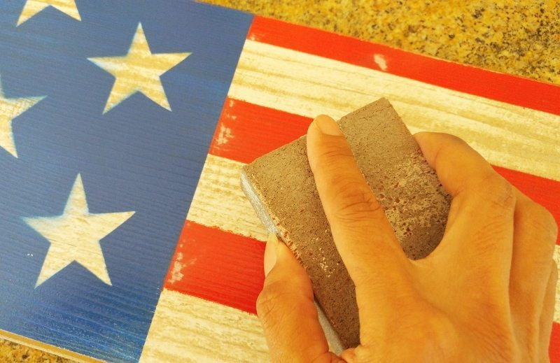 Fourth of july front door decoration diy inspired for American flag decoration