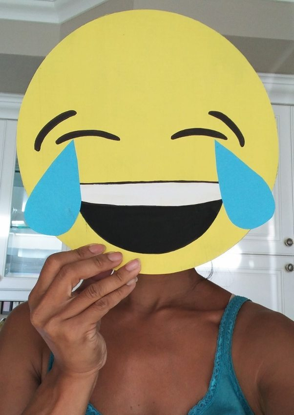 DIY Emoji Halloween Costume