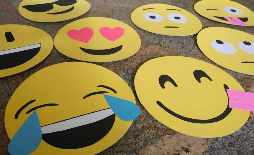 How To Make Cardboard Emoji Faces