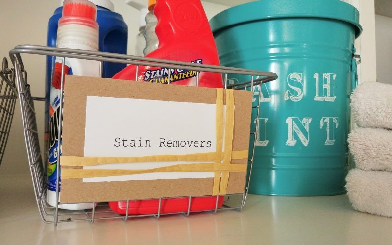 Get Organized with DIY Laundry Room Labels