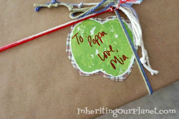 Easy Craft Ideas for Kids - Apple Tags