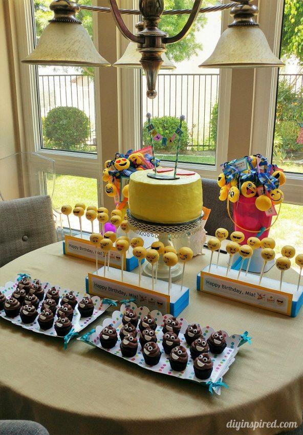 Emoji Birthday Party Ideas - DIY Inspired