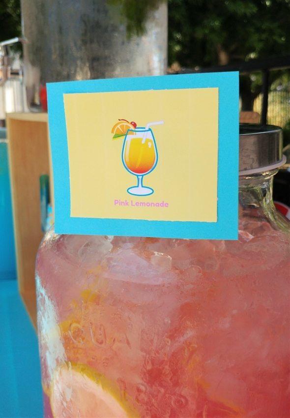 Emoji Party Drink Station - Cocktail Emoji