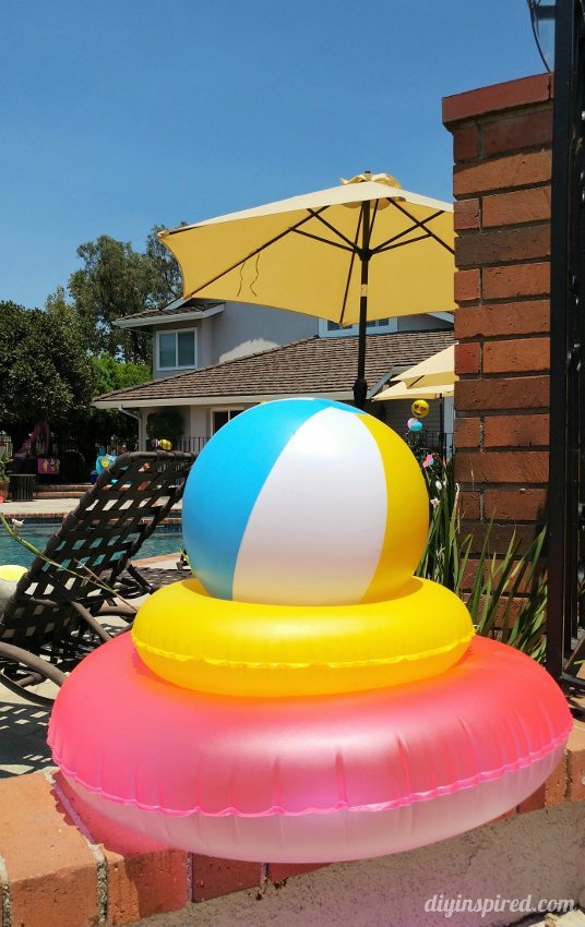 Emoji Pool Party Decorations - DIY Inspired