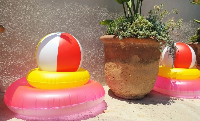 Emoji Pool Party Decorations