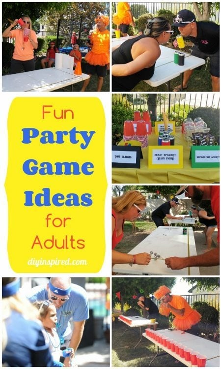 Fun Party Games for Adults - DIY Inspired