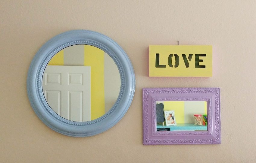 Kids Room Gallery Wall DIY