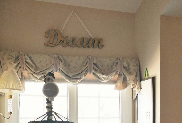 Nursery Sign Upcycle - Mini Makeover