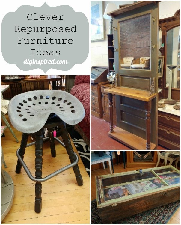 Clever repurposed furniture ideas diy inspired for Repurposed home decorating ideas