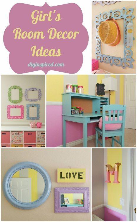 Girls Room Decor Ideas - DIY Inspired