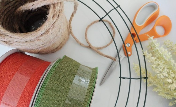 pumpkin-wreath-diy-materials