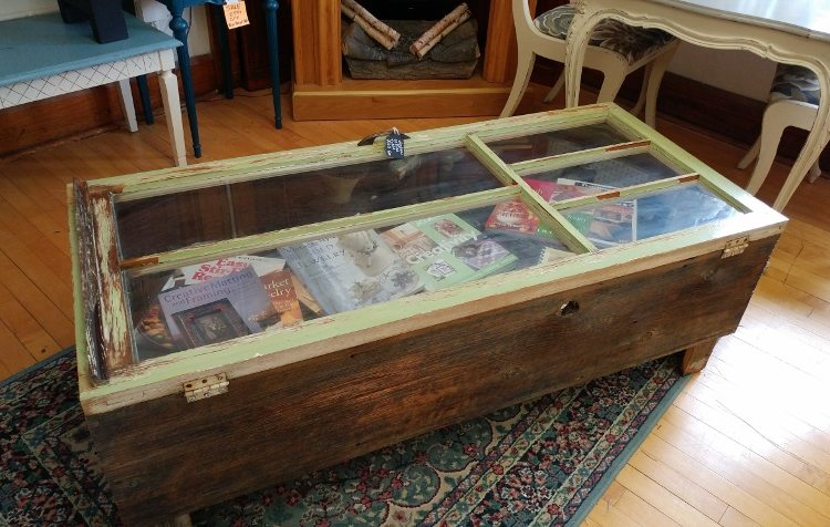 repurposed-furniture-window-coffee-table
