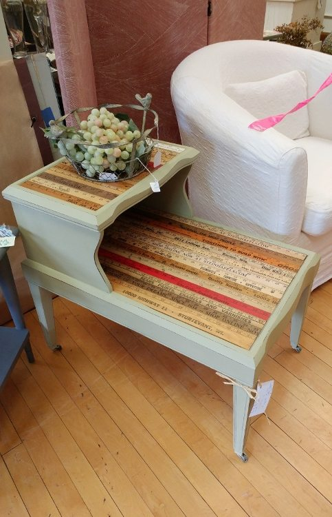 repurposing furniture. repurposedfurnitureyardsticksidetable repurposing furniture t