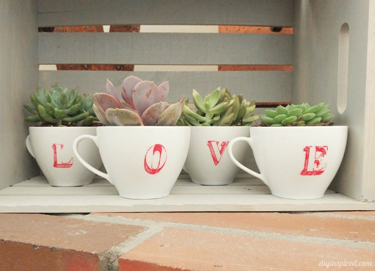 stenciled-repurposed-coffee-cups