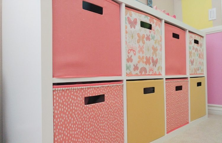 Storage Ideas for a Girls Room