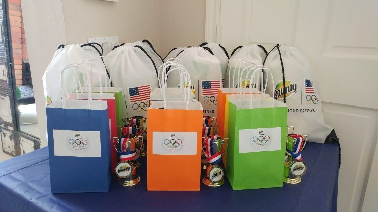 Summer Olympics Party Favors