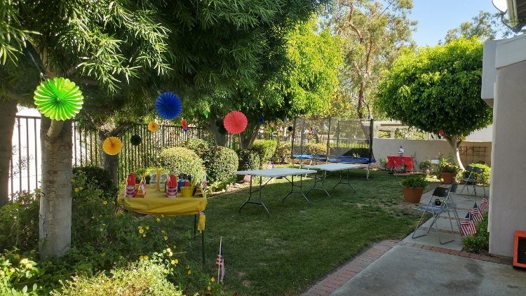 Summer Olympics Party Outdoor Decorations