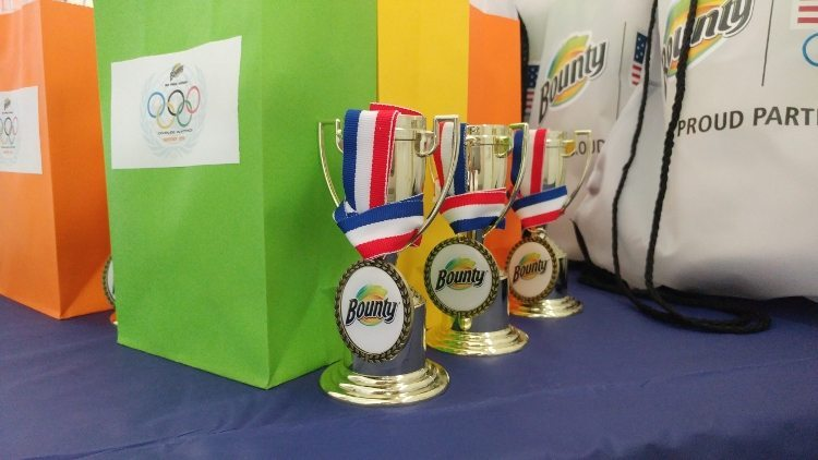 Summer Olympics Party - Participation Trophies and Medals