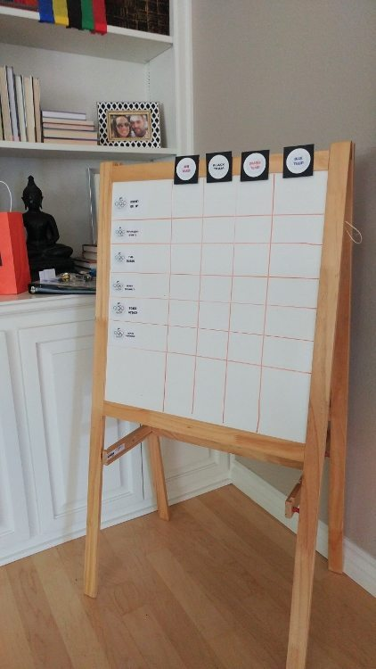 Summer Olympics Party Score Board