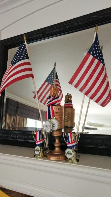 Summer Olympics Party - Trophies