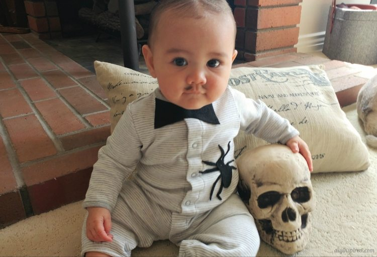 Diy Baby Pubert Addams Halloween Costume Diy Inspired