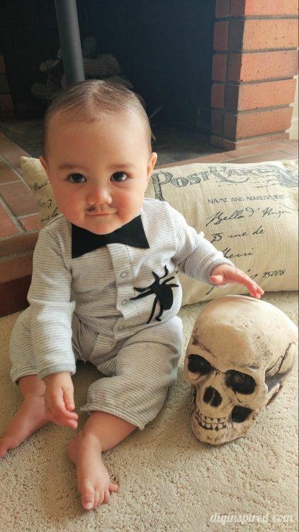 Diy Baby Pubert Addams Halloween Costume Diy Inspired