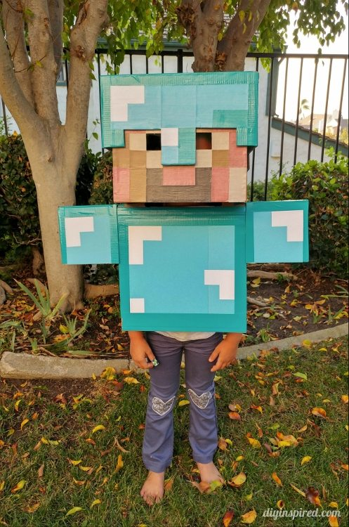 Diy Minecraft Costume Instructions Diy Inspired