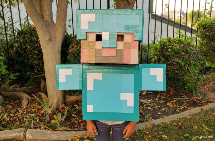 Diy minecraft costume instructions diy inspired diy minecraft costume instructions solutioingenieria Images