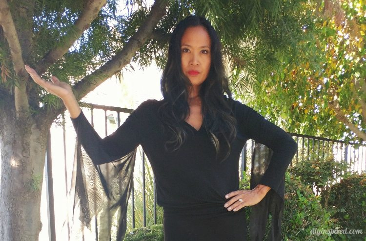 Cheap and Easy Morticia Addams Halloween Costume  sc 1 st  DIY Inspired & Cheap and Easy Morticia Addams Halloween Costume - DIY Inspired