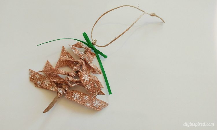 Diy Ribbon Christmas Tree Ornaments Diy Inspired