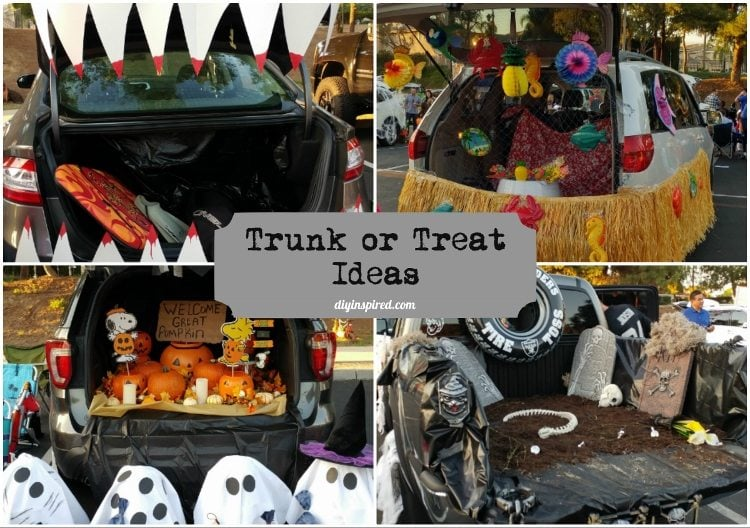 Trunk or Treat Decorating Ideas & Trunk or Treat Decorating Ideas - DIY Inspired