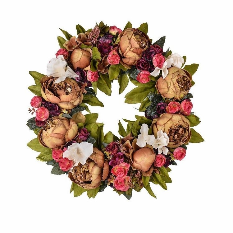 fall-wreaths-blooming-vintage-flowers