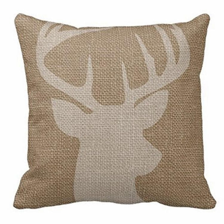 farmhouse-christmas-deer-pillow-case