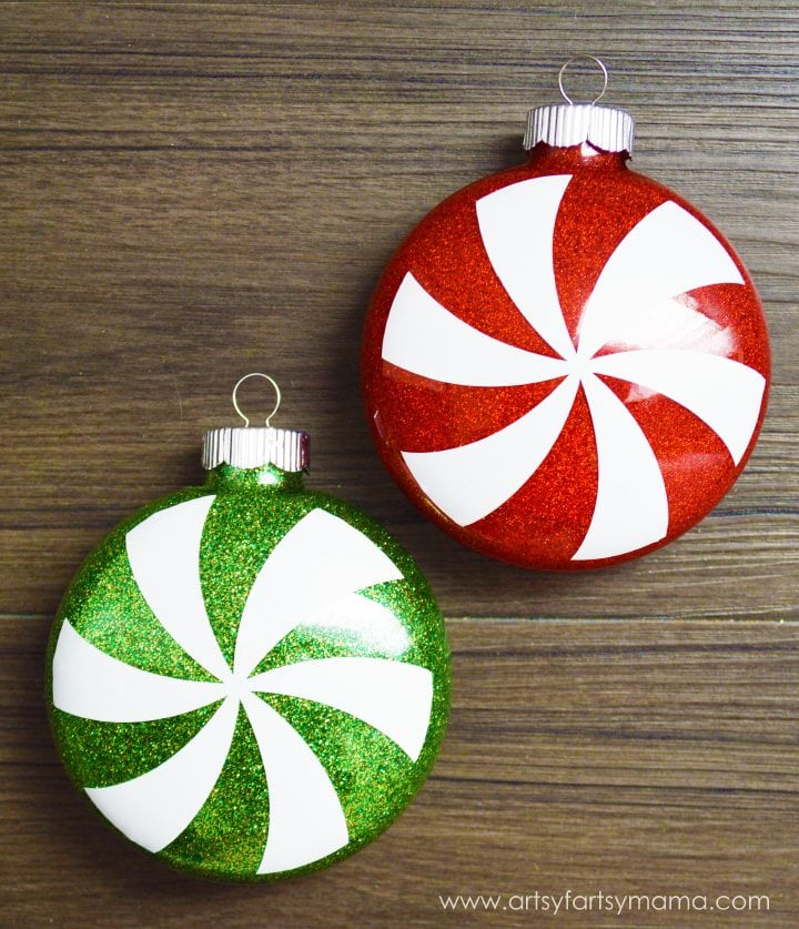 glittered-peppermint-ornaments