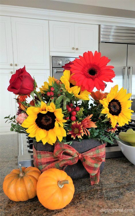 thanksgiving-home-decor-ideas-fresh-flowers
