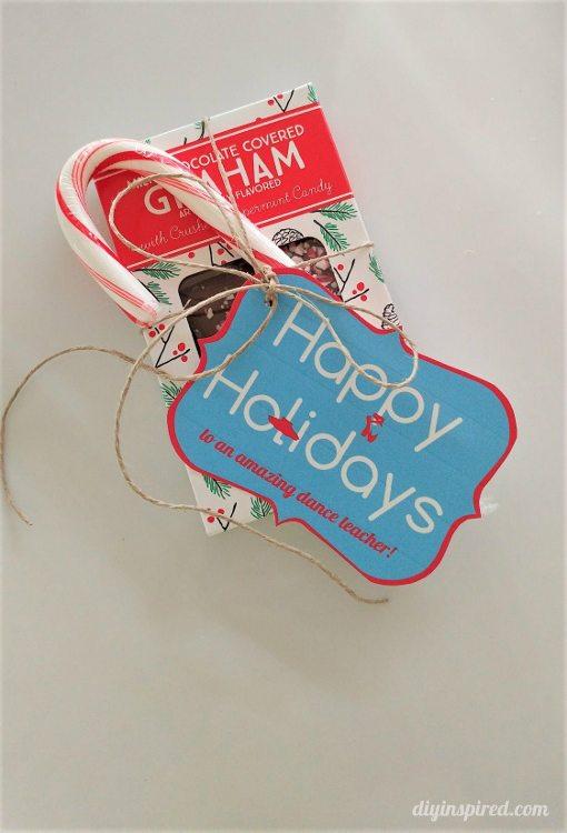 Dance Teacher Printable Christmas Gift Tags - DIY Inspired
